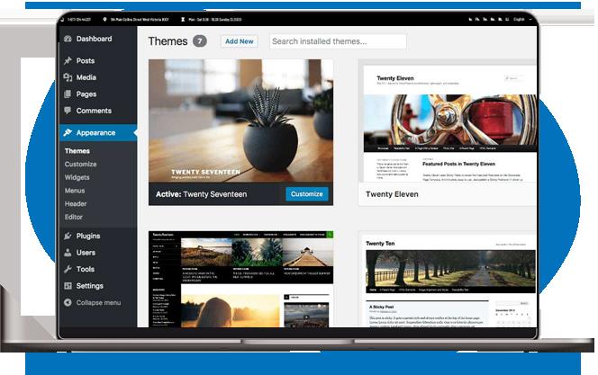 WordPress Web Design at Amity Digital