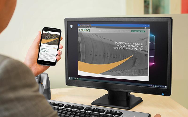 PBM Services Company desktop and mobile presentation